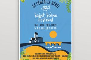 Saint Scène – charte graphique