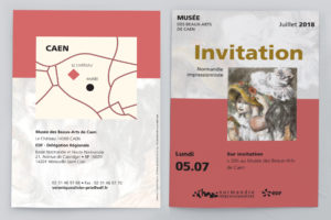Plaquette d'invitation